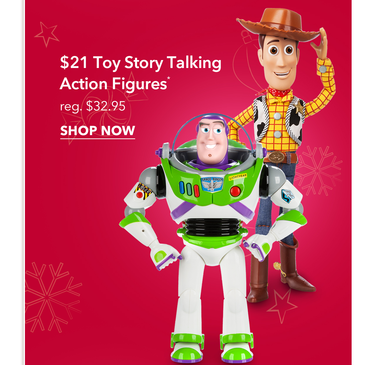 $21 Toy Story Talking Action Figures | Shop Now