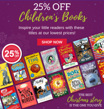 25% off Children's Books
