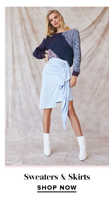Sweaters & Skirts - Shop Now