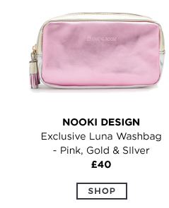 NOOKI Exclusive Luna Washbag - Pink, Gold & Silver