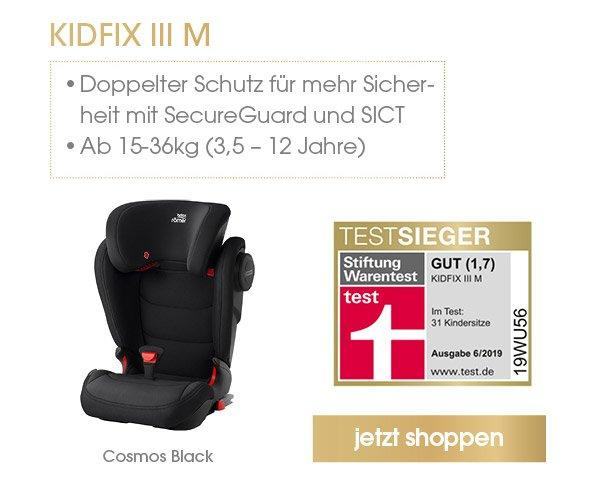 Britax Römer Kindersitz Kidfix III M Cosmos Black