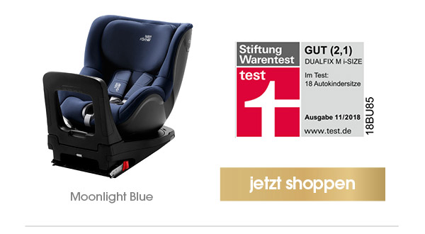 Britax Römer Kindersitz Dualfix M i-Size Moonlight Blue