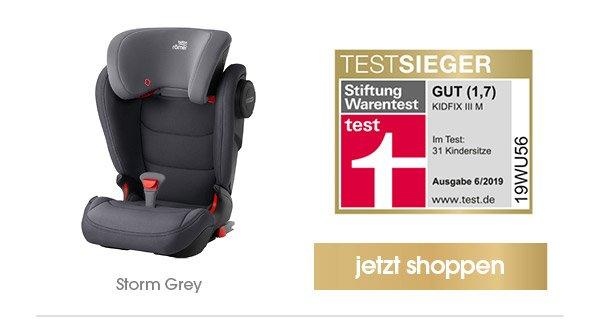 Britax Römer Kindersitz Kidfix III M Storm Grey