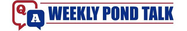 Weekly Pond Talk