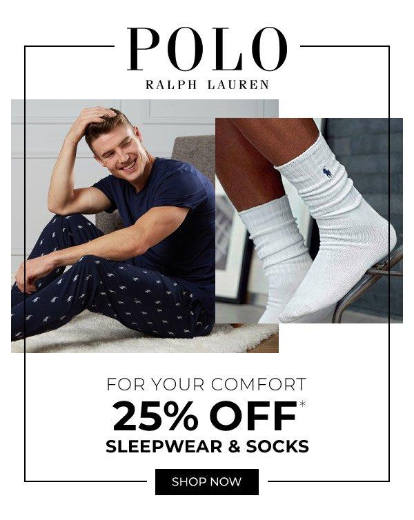 Shop Polo Sleepwear & Socks