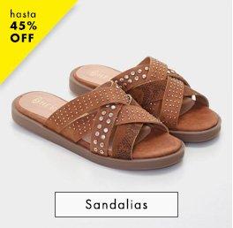 Sandalias / Hasta 45% OFF