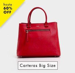 Carteras Big Size / Hasta 60% OFF