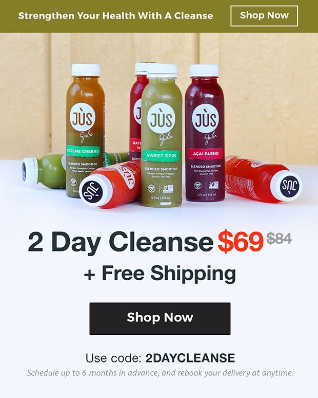 2 Day Cleanse + Free Shipping for $69