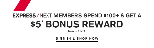 $5 BONUS REWARD