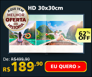 Fotolivro HD 30x30cm