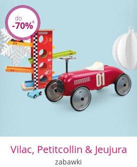Vilac, Petitcollin & Jeujura - zabawki