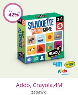 Addo, Crayola,4M - zabawki