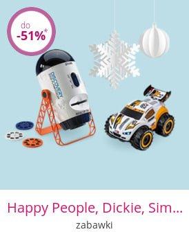Happy People, Dickie, Simba & Co. - zabawki