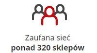 Zaufana sieć ponad 320 sklepów!