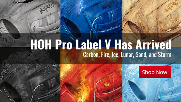 """Get Your Limited Edition Pro Label 5 """"The Elements"""" Glove - In 1 of 6 Colors - Before They're Gone For Good!"""