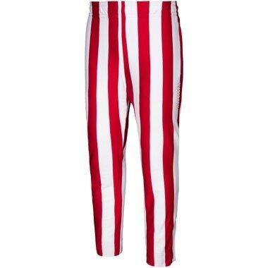 Indiana Hoosiers adidas Candy Stripe Pants - Crimson