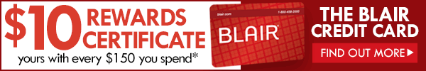 $10 rewards certificate with every $150 you spend*
