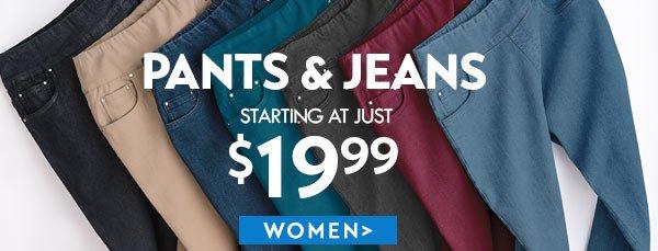 Women's Pants & Jeans