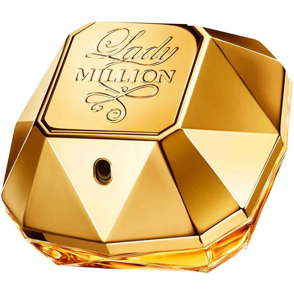 Image of Paco Rabanne Lady Million Eau de Parfum Spray (30ml, 50ml & 80ml)