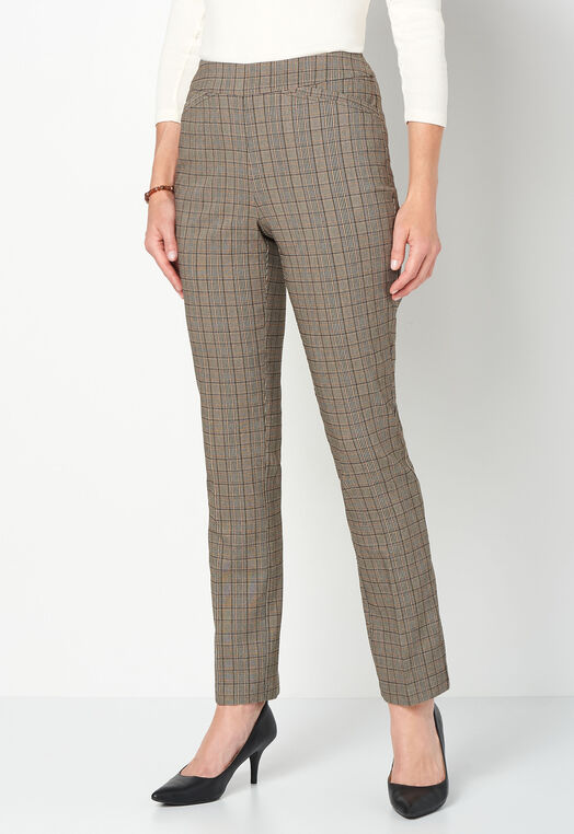 Pull-On Menswear Straight Pant Average Relaxed Fit