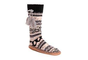 MUK LUKS - Tall Slipper Socks - Women's