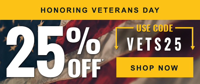 25% Off with code VETS25 - Shop Now