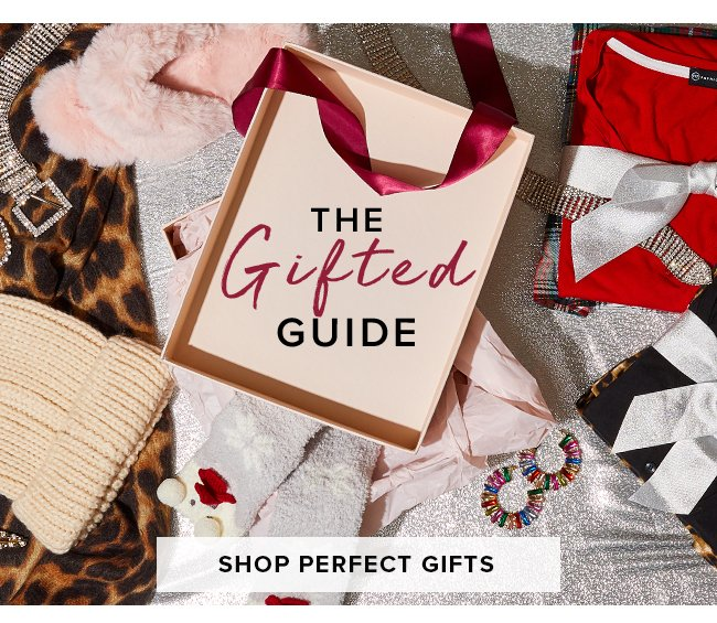 THE GIFTED GUIDED. SHOP PERFECT GIFTS