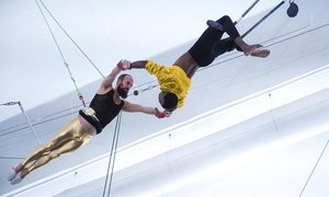 Indoor Flying Trapeze Class