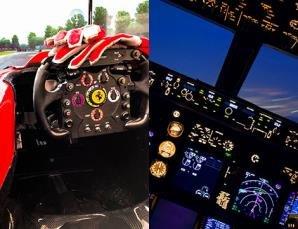 Pilota un Jet Boeing o una F1