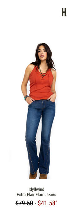 Idyllwind Women's Extra Flair Flare Jeans