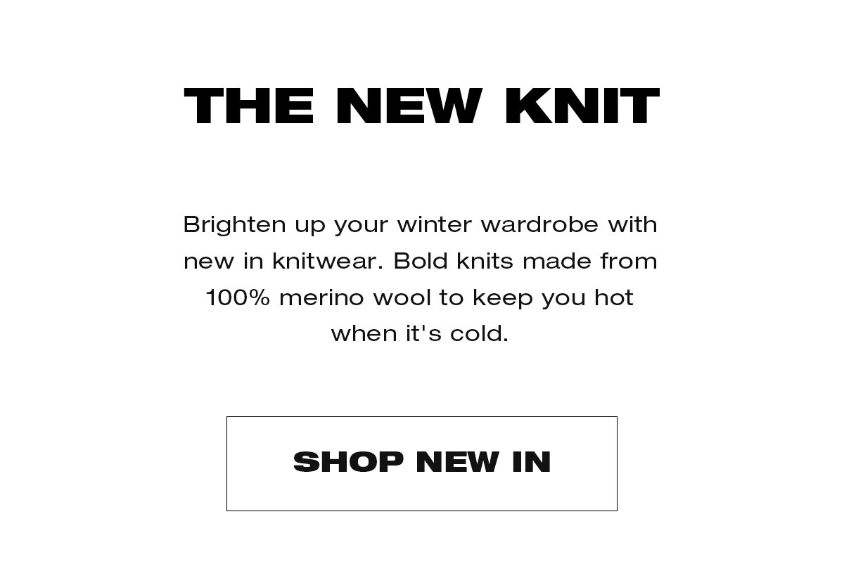 The New Knit