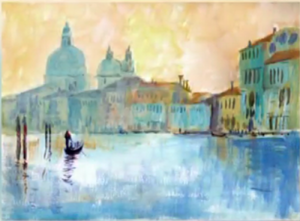 Venice in Acrylics with Wendy Jelbert- Image