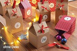 IDEENWELT 24 Adventskalender-Boxen