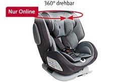 """Nur im Online-Shop: osann Kinderautositz """"One360°"""", Universe Grey"""