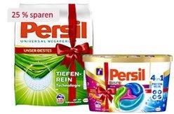 Persil Megaperls, DISCS oder Gel - jetzt 25% sparen!