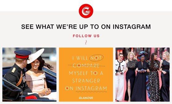 Glamour Instagram