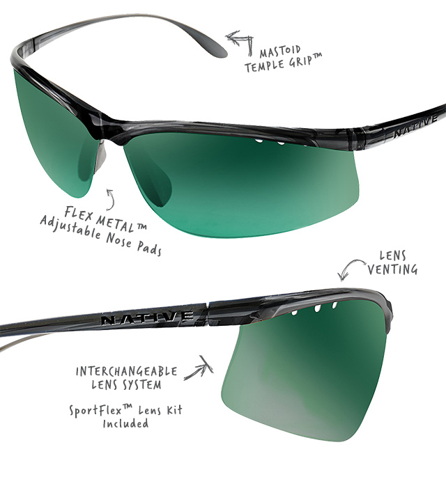 Shop Native Eyewear DASH AF Sunglasses (Available in 3 Colorways) - Start Shopping