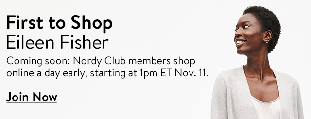 First to shop new Eileen Fisher.