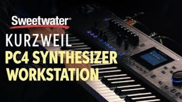 Kurzweil PC4 Synthesizer Workstation Demo