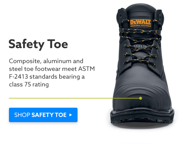 SHOP SAFETY TOE