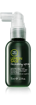 Image of Tea Tree Lemon Sage Thickening Spray bottle.