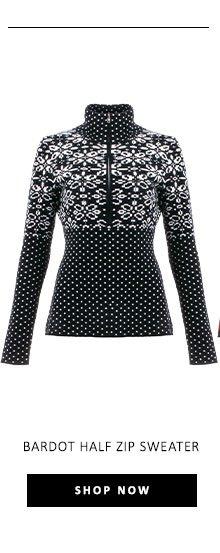 Bardot Half Zip Sweater