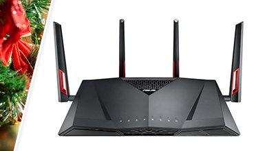 ASUS RT-AC88U AC3100 MU-MIMO Gigabit Wireless Gaming Router (RT-AC88U)