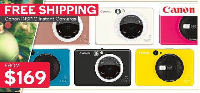 Canon INSPIC S Instant Cameras