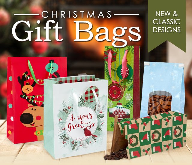 Shop Christmas Paper Gift Bags