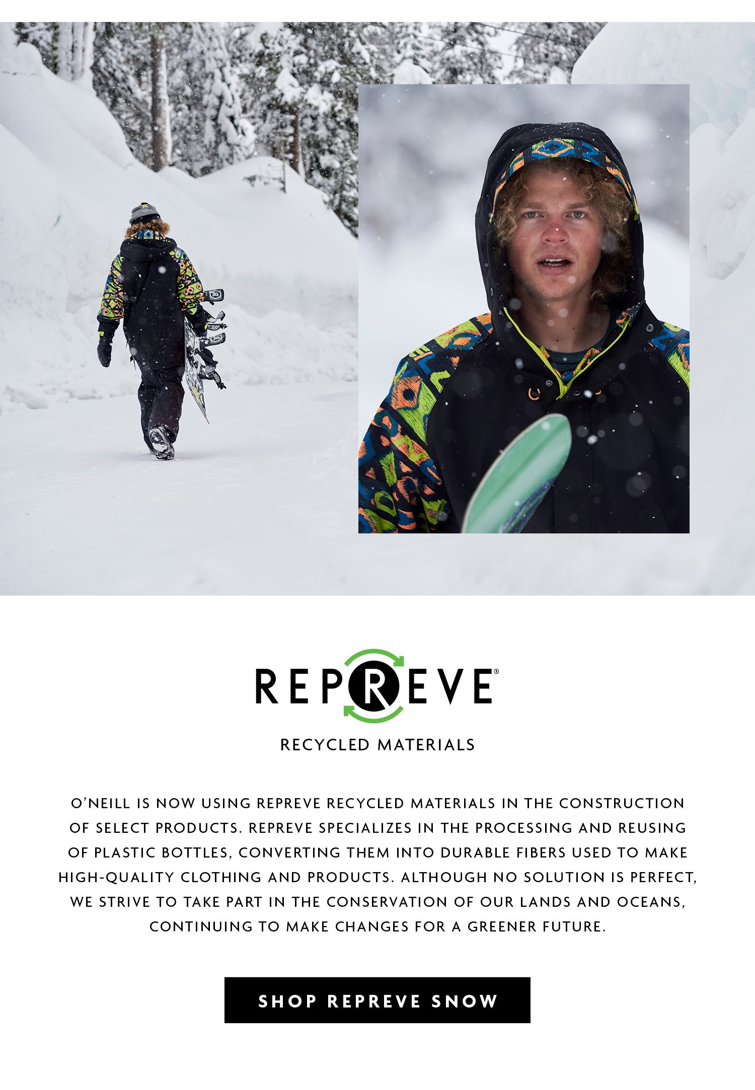 Repreve - Recycled Materials