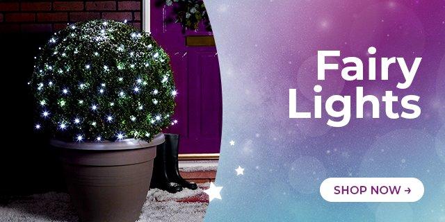 Fairy Lights. Shop Now →