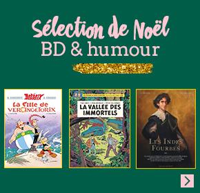 Sélection de Noel : BD & humour