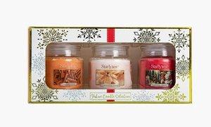 Set di 3 candele profumate Starlytes