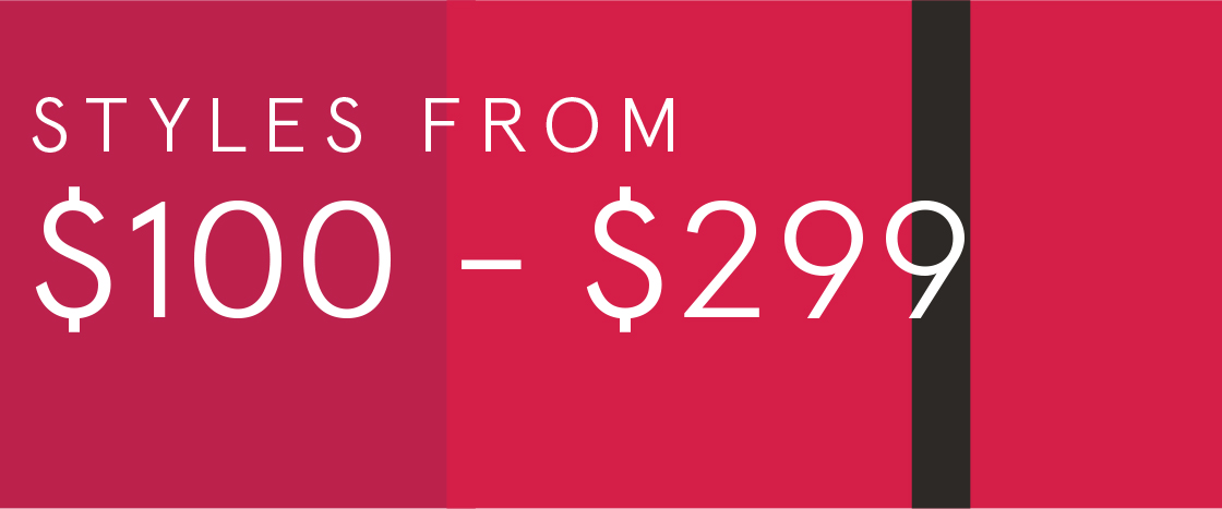 Shop styles $100-$299